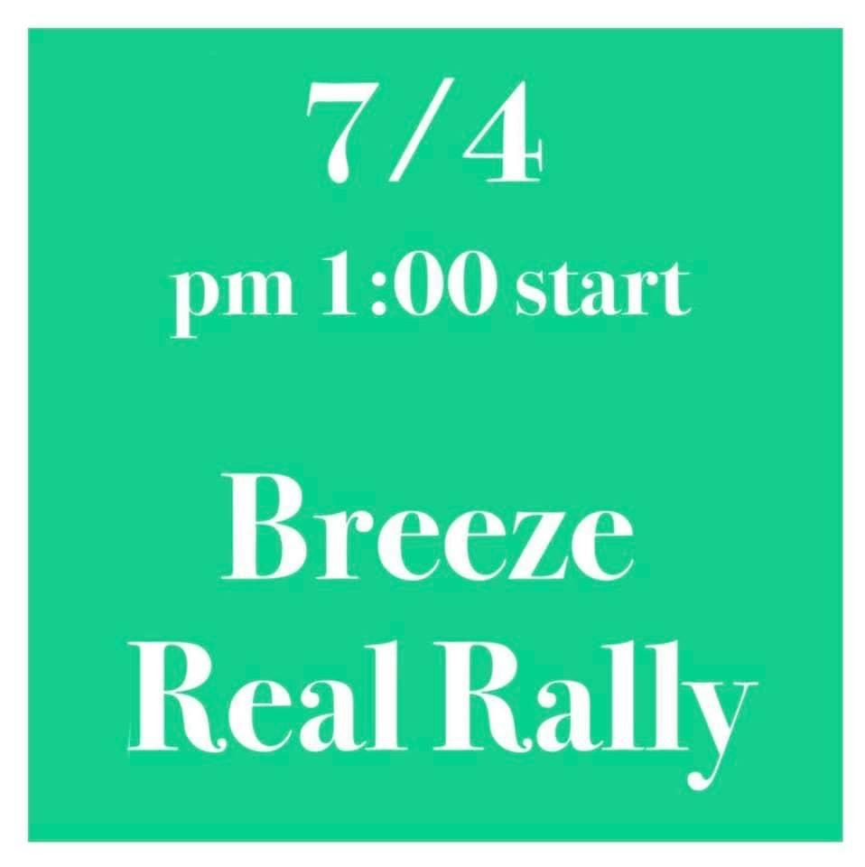 【Breeze Real Rallyのお知らせ】